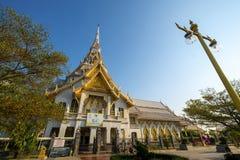 2019-03-09, провинция Wat Sothon Wararam Worawihan Chacheongsao, Таиланд стоковая фотография