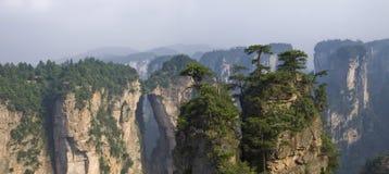 провинция zhangjiajie национального парка hunan Стоковое фото RF
