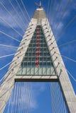 проводы веревочки опоры моста Стоковые Фото