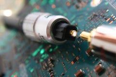 проводы кабелей Стоковые Изображения RF