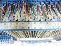 проводы кабеля стоковая фотография