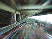 проводы кабеля Стоковые Фотографии RF