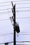 проводы полюса Стоковая Фотография RF