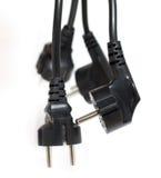 проводы электропитания Стоковая Фотография RF