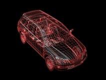 провод автомобиля Стоковое Изображение