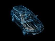 провод автомобиля Стоковые Изображения RF