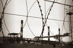 провод бритвы индустрии Стоковые Фото