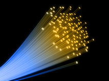 провод волокна Стоковые Изображения RF