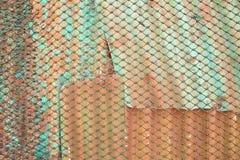 провод листа веревочки металла Стоковая Фотография RF
