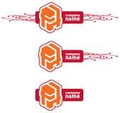 провод логоса 3 компании габаритный Стоковое Фото