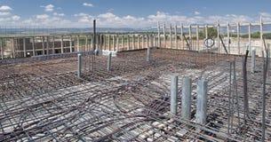 провод подкрепления металла рамок электричества Стоковое Изображение