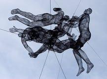 провод скульптур Стоковое Фото