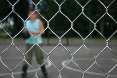 провод спорта плетения загородки Стоковые Фотографии RF