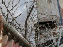 провод стены berlin constantina стоковое изображение rf