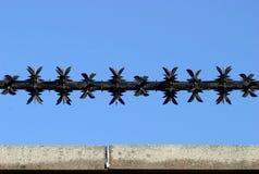 провод 2 бритв стоковая фотография rf