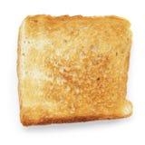 Провозглашанный тост кусок белого хлеба Стоковые Изображения