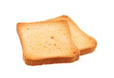 2 провозглашанный тост кусок хлеба Стоковые Фотографии RF