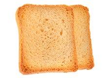 Провозглашанный тост кусок хлеба Стоковая Фотография RF