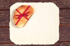 Провозглашанный тост кусок хлеба Стоковая Фотография