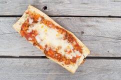 Провозглашанный тост французский багет Стоковое Изображение RF