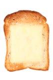 Провозглашанный тост хлеб с сметанообразным сыром Стоковые Фото