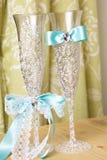 Провозглашать wedding стекла Стоковое Изображение