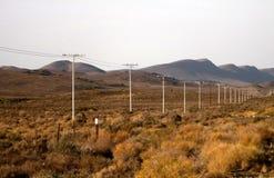 Провода пустыни стоковая фотография