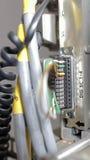 Провода телефона, центр данных Стоковые Фотографии RF