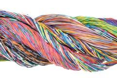 Провода цвета Стоковые Фото