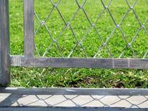 провод белизны вектора имеющейся загородки предпосылки безшовный Стоковая Фотография