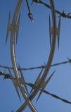 Провод бритвы Стоковые Фотографии RF
