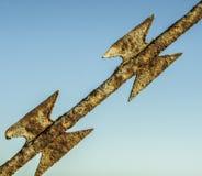 Провод бритвы Стоковое Фото
