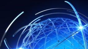Провод глобуса Стоковая Фотография