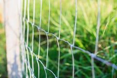 Провод загородки металла Стоковое Изображение