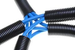 Проводка компьютерных сетей электрических и Стоковые Изображения RF