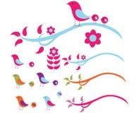 провод птиц Стоковое Изображение RF