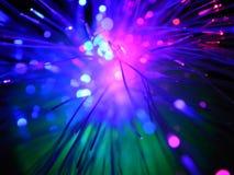 Провод сини конца-вверх Стоковое фото RF