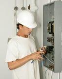 провод утески электрика Стоковое Изображение RF