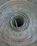 проводы промышленного металлического пакета решетки круглые Стоковые Фотографии RF