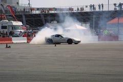 Прогар II автомобиля смещения Motorsports ворот Стоковое Изображение RF