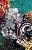 прогар paisley Стоковое Изображение