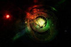 Прогноз гороскопа стоковое изображение rf