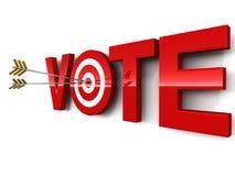 Голосование Стоковые Изображения RF