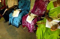 программа Индии пожертвования крови Стоковое фото RF