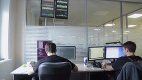 Программист в работе акции видеоматериалы