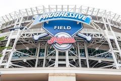 Прогрессивное поле в Кливленде, Огайо Стоковое Изображение RF