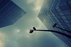 прогресс дела зданий строения Стоковые Фотографии RF