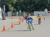 Прогресс конкуренции runbike Стоковое Изображение