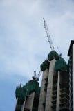 прогресс конструкции здания Стоковое фото RF