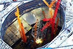 Прогресс купола Стоковые Фотографии RF